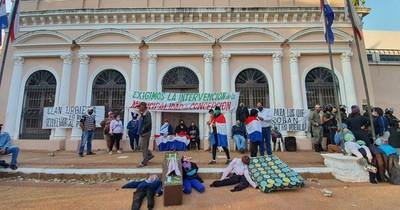 """Concepción: vaticinan un nuevo """"marzo paraguayo"""" por intervención a gestión de Urbieta"""