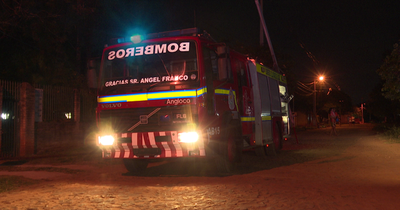 Presunto adicto a las drogas incendió su vivienda en Luque