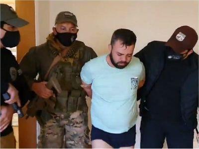 Cae jefe de organización criminal que escapó del Brasil