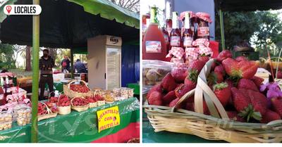 Productores de Areguá ofrecen sus productos en la Plaza de Armas de Encarnación