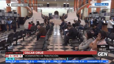 """HOY / Óscar Orué, viceministro de Tributación: """"Estamos satisfechos porque hay un mejoramiento en recaudación"""""""