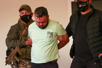 """Hernandarias: Capturan a """"Guri"""", jefe de la organización criminal """"Os Manos"""" de Brasil"""