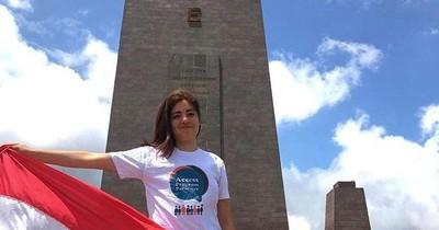 Paraguaya sobresaliente: Amor por las matemáticas la llevó de J.A. Saldívar a una beca en EEUU
