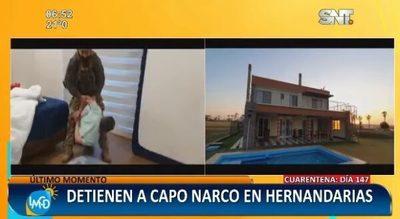 """Capturan a Nené, """"capo narco"""" brasileño"""