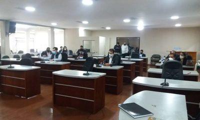 Junta departamental suspende actividades y postergan elección de nuevo presidente