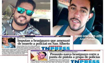 """""""Brasiguayo"""" que corrió a balazos policías  ahora intenta asesinar a joven, en San Alberto – Diario TNPRESS"""