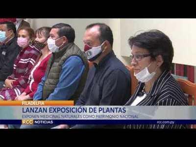 LANZAN EXPOSICIÓN DE PLANTAS MEDICINALES DEL CHACO EN LA GOBERNACIÓN DE BOQUERÓN