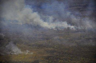 """Se preparan para otra """"tanda"""" de grandes incendios forestales en el Chaco"""
