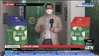HOY / Carlos Jara, director de la Empresa Soluciones Ecológicas, sobre emprendimiento