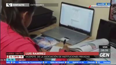 HOY / Luis Ramírez, vicepresidente de la Asociación de Instituciones Privadas: ¿Volvemos al aula el año que viene?