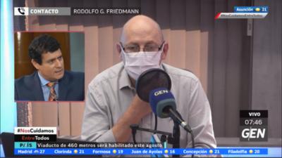 HOY / Habló Rodolfo González Friedmann, primo del ministro Rodolfo Friedmann
