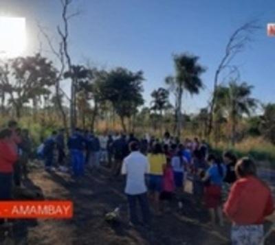 Tragedia en Amambay: Mujer muere en incendio de su vivienda