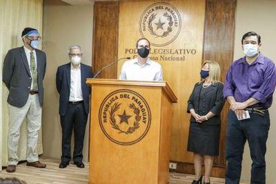 """Senadores de la oposición se unen """"para contrarrestar persecución política orquestada por la ANR"""""""