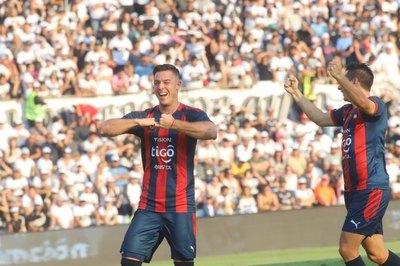 El especial festejo por los 50 goles de Diego Churín