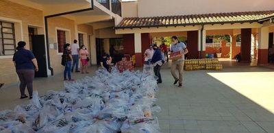 Gobernación de Misiones arrancó cuarta distribución de kits de víveres