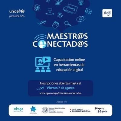 HOY / Tigo y Unicef extienden inscripciones para capacitación gratuita a docentes