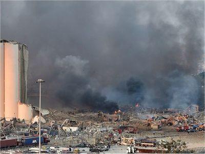 """""""Innumerable"""" número de muertos y heridos tras explosión en Beirut"""