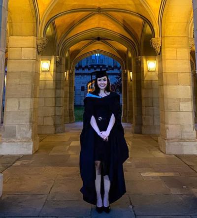 Joven compatriota obtuvo maestría en tecnología de la información en Australia