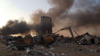 """Explosión en Beirut: """"se sintió como un terremoto, el daño es grande"""", relatan"""