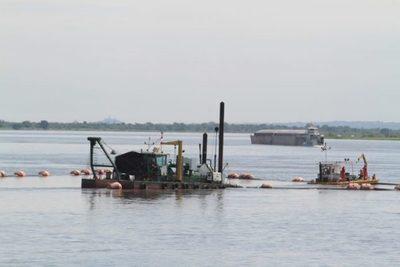 Operaciones comerciales de barcazas disminuyeron en un 80%