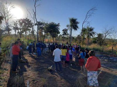 Mujer indígena muere calcinada dentro de una vivienda