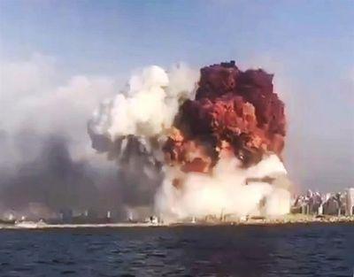 """Paraguayo en Líbano: """"La explosión fue semejante a la bomba de Hiroshima"""""""
