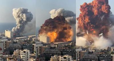 Las impresionantes imágenes y los últimos detalles del estallido en Beirut