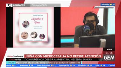 HOY / Diana Morel, madre de niña con microcefalia
