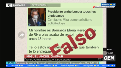 HOY / Miguel Ángel Gaspar, director de Paraguay Ciberseguro, sobre nueva modalidad de esta vía WhatsApp