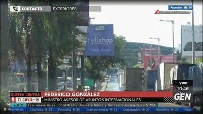 HOY / Ministro Federico González, sobre propuesta del Brasil para reabrir el Puente de la Amistad