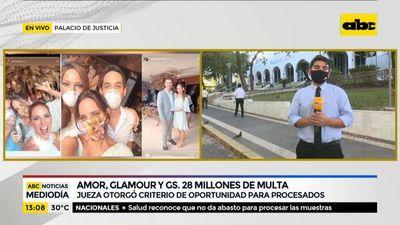 Boda cheta: Amor, glamour y G. 28 millones de multa