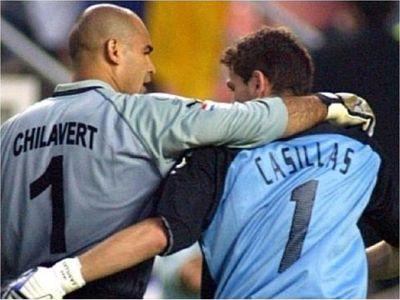 Así despidió Chilavert a Iker Casillas