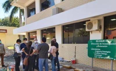 Laboratorio biomolecular del Alto Paraná estaría listo esta semana
