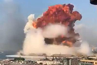 Explosión sacudió puerto de Beirut y deja decenas de muertos y al menos 400 heridos