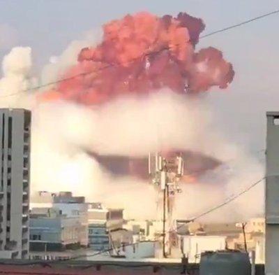 Paraguayo comenta el impactante momento de la Tragedia en Beirut