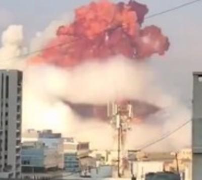 Paraguayo cuenta el terrible momento de la explosión en Beirut
