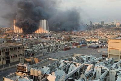 Al menos 10 muertos por gran explosión en zona portuaria de capital libanesa