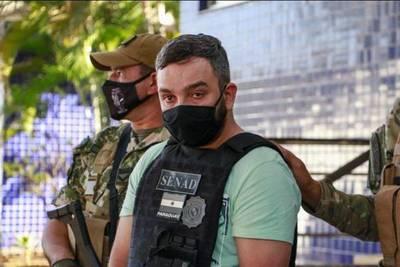 Jefe narco brasileño expulsado del país