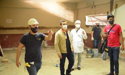 Avanza reforma de UTI del Hospital de CDE ejecutada con fondos municipales