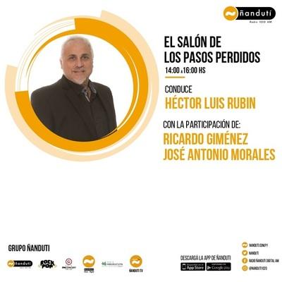 El Salón de los Pasos Perdidos con Luis Rubin, José Antonio, El Arqui y Sofía Alonzo
