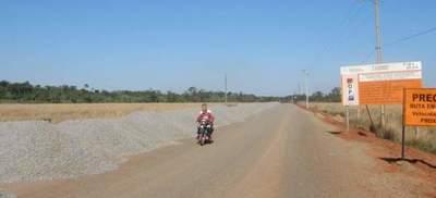 Avanza obra para ruta asfáltica en tramo San José de los Arroyos – Tebicuary