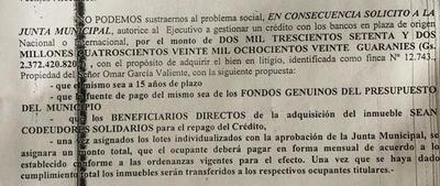 Caso barrio Fátima: ¿qué pasó del préstamo prometido por «Tati» Urbieta?