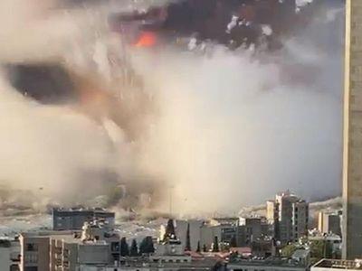 Beirut: Las imágenes impactantes de la catastrófica explosión