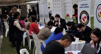 Oficina de Empleo de la ANR recibe 500 currículum vitae por día