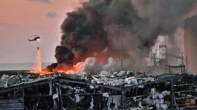 Autoridades libanesas revelan causas de la enorme explosión en puerto de Beirut