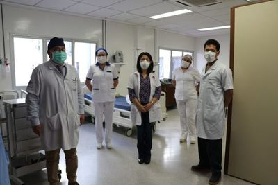 Trasplantado en plena pandemia sale de alta