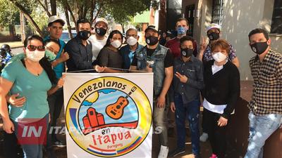 ACCIONES LOABLES DE LA COMUNIDAD VENEZOLANA EN ITAPÚA.