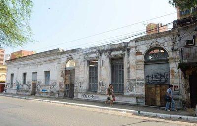 Edificios históricos de Asunción, en total estado de abandono