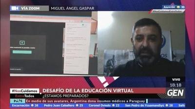 HOY / Miguel Ángel Gaspar, de la fundación Ciberseguro, sobre los desafíos de la educación virtual