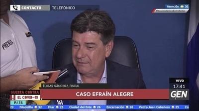HOY / Fiscal Edgar Sánchez, sobre el caso de Efraín Alegre